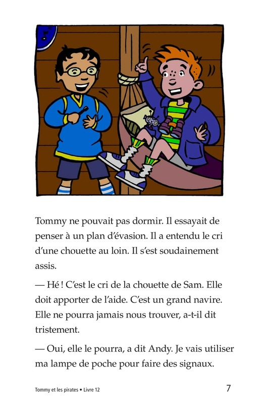 Book Preview For Tommy and the Pirates Page 7