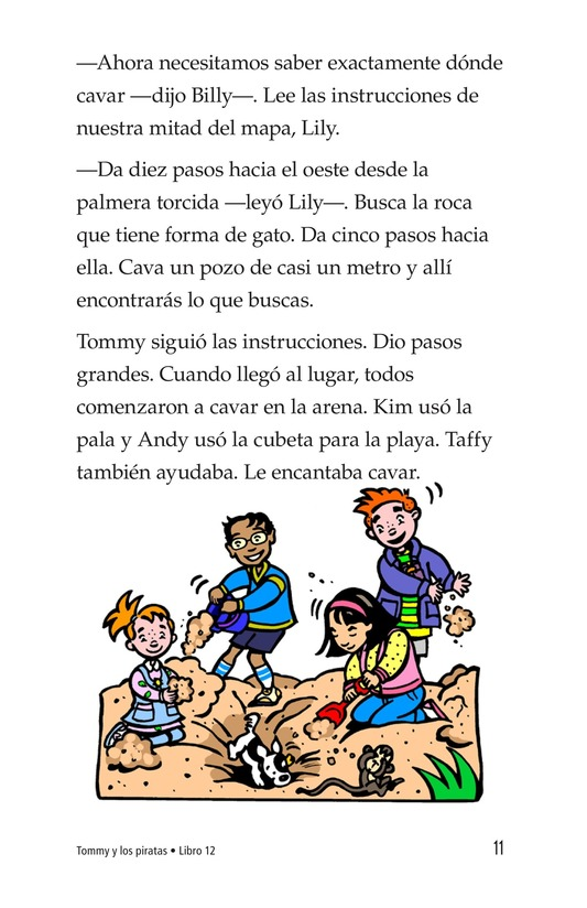 Book Preview For Tommy and the Pirates Page 11