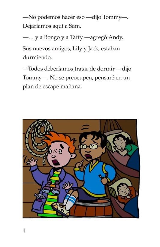 Book Preview For Tommy and the Pirates Page 4