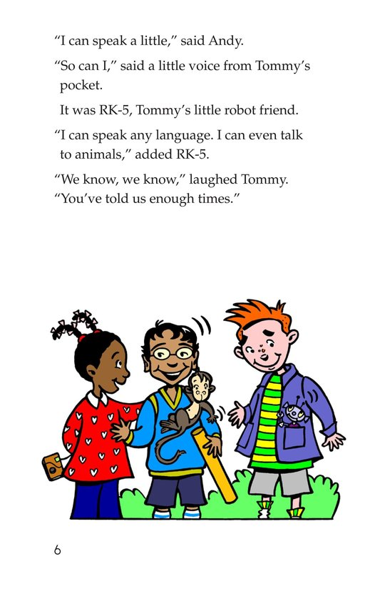 Book Preview For Tommy Goes to Spain Page 6