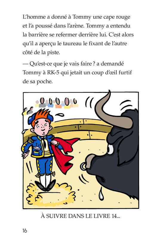 Book Preview For Tommy Goes to Spain Page 16