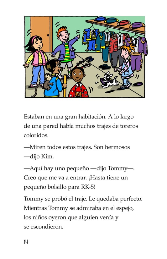 Book Preview For Tommy Goes to Spain Page 14