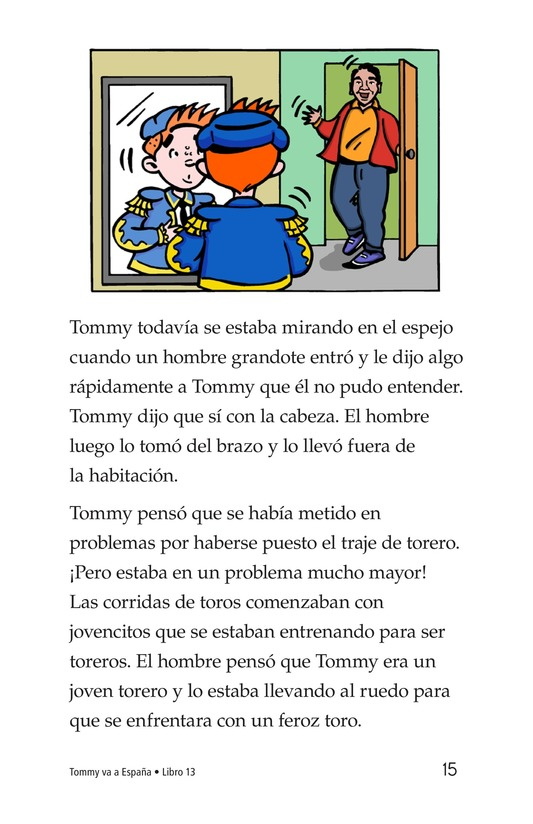 Book Preview For Tommy Goes to Spain Page 15