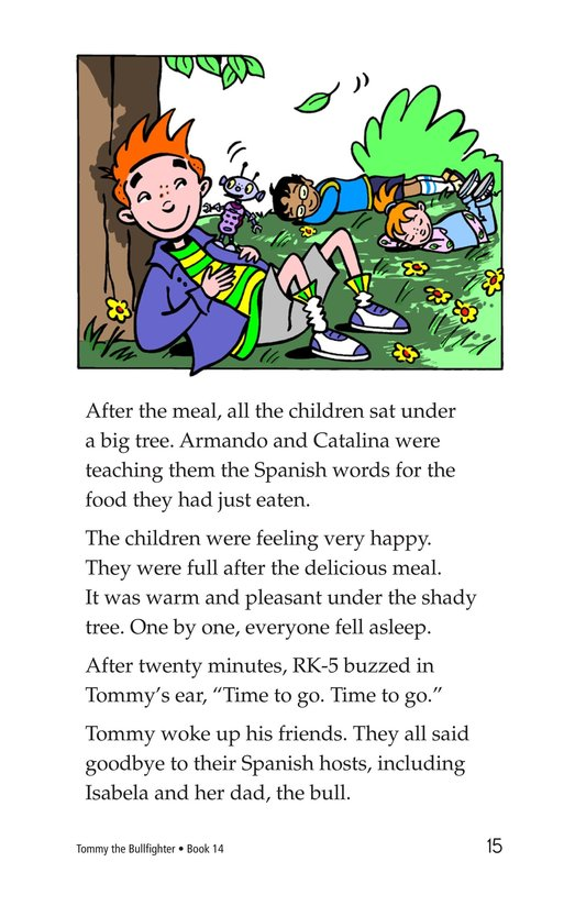 Book Preview For Tommy the Bullfighter Page 15
