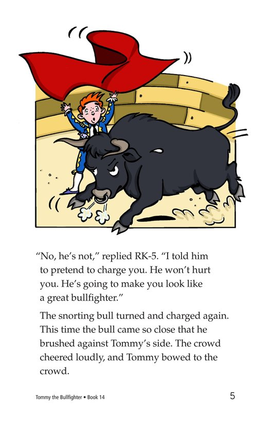 Book Preview For Tommy the Bullfighter Page 5