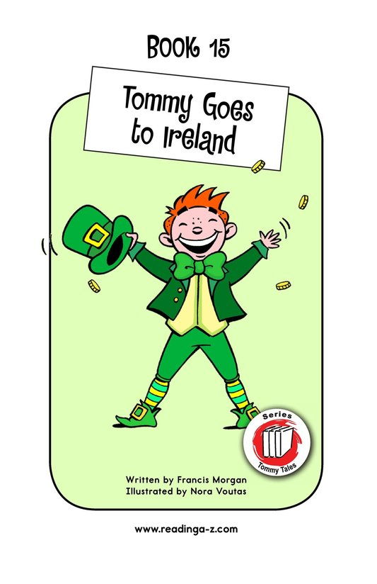 Book Preview For Tommy Goes to Ireland Page 1