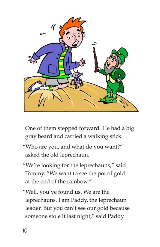 Book Preview For Tommy Goes to Ireland Page 10