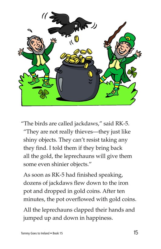 Book Preview For Tommy Goes to Ireland Page 15