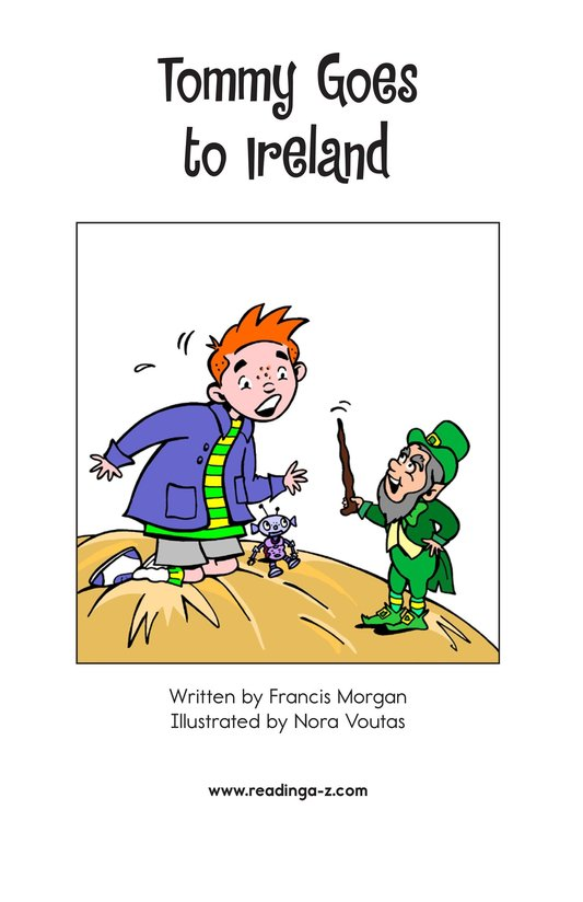 Book Preview For Tommy Goes to Ireland Page 2