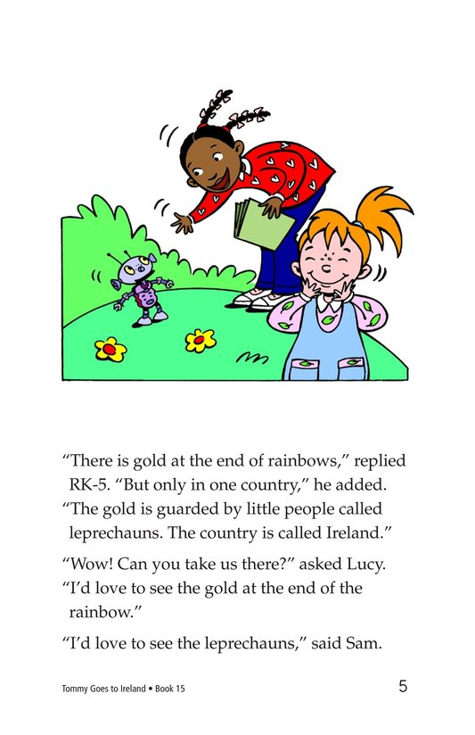Book Preview For Tommy Goes to Ireland Page 5