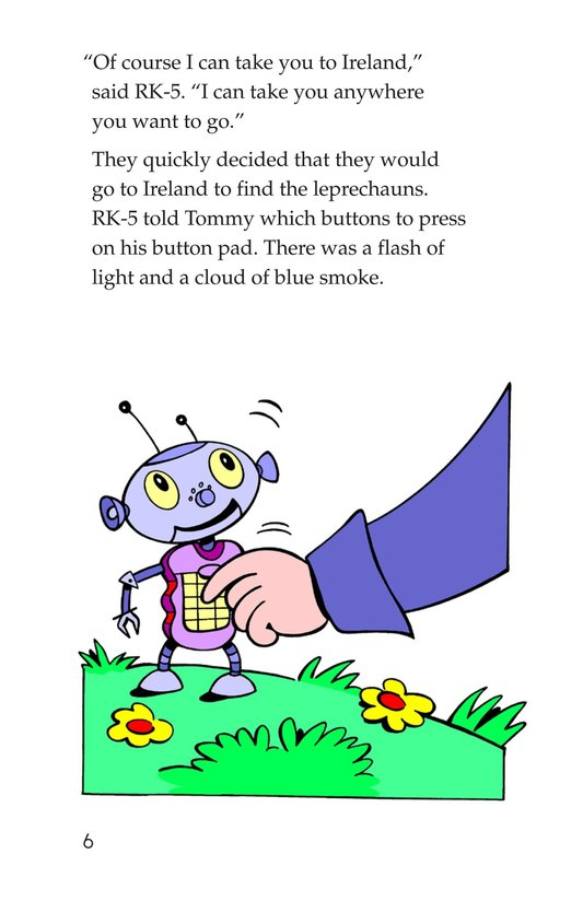 Book Preview For Tommy Goes to Ireland Page 6