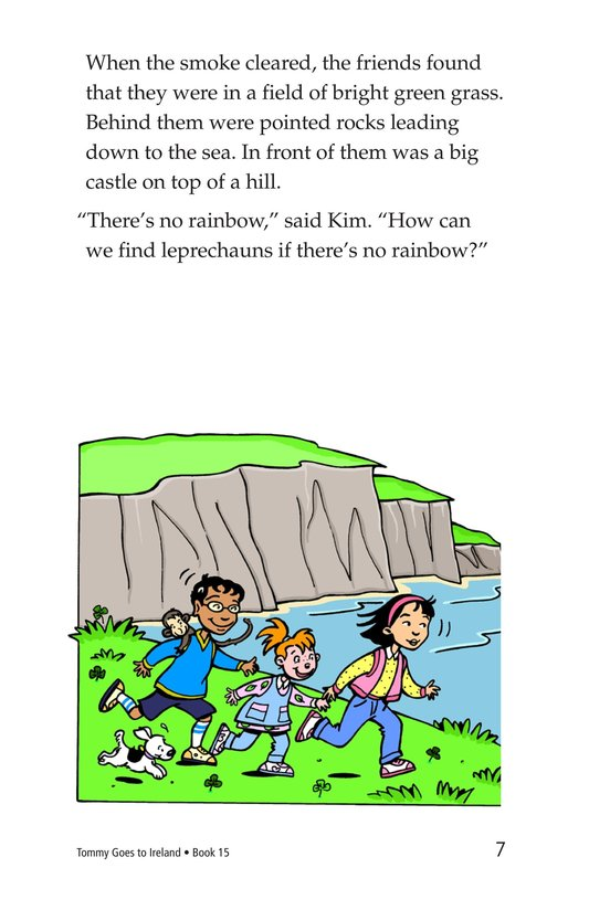 Book Preview For Tommy Goes to Ireland Page 7