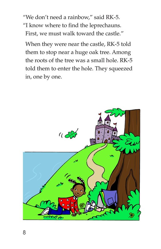 Book Preview For Tommy Goes to Ireland Page 8
