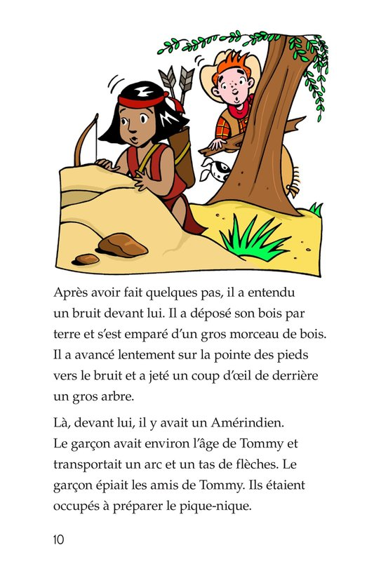 Book Preview For Tommy Goes To Arizona Page 10