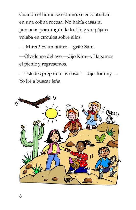 Book Preview For Tommy Goes To Arizona Page 8