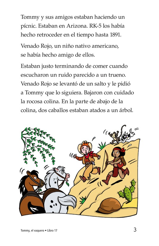 Book Preview For Tommy the Cowboy Page 3