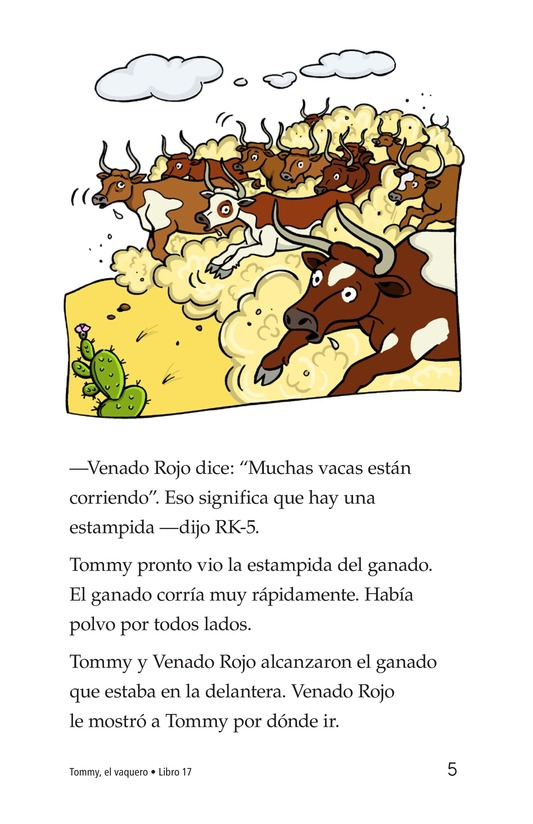 Book Preview For Tommy the Cowboy Page 5