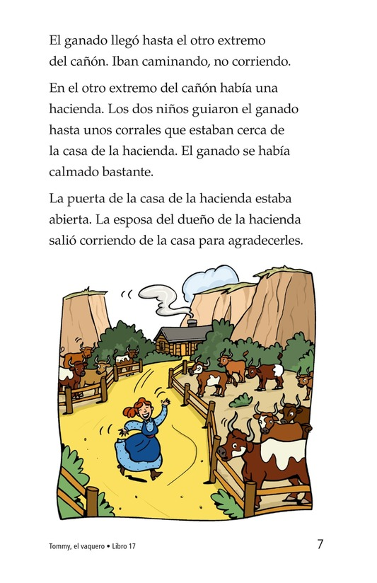 Book Preview For Tommy the Cowboy Page 7