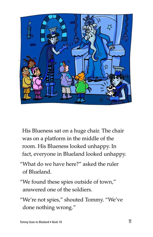Book Preview For Tommy Goes To Blueland Page 11