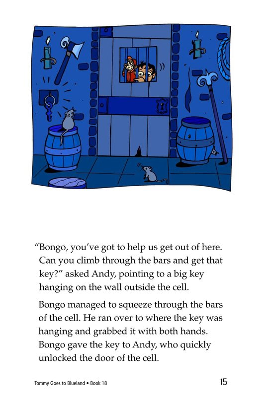 Book Preview For Tommy Goes To Blueland Page 15