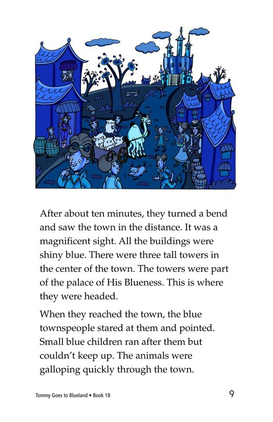 Book Preview For Tommy Goes To Blueland Page 9
