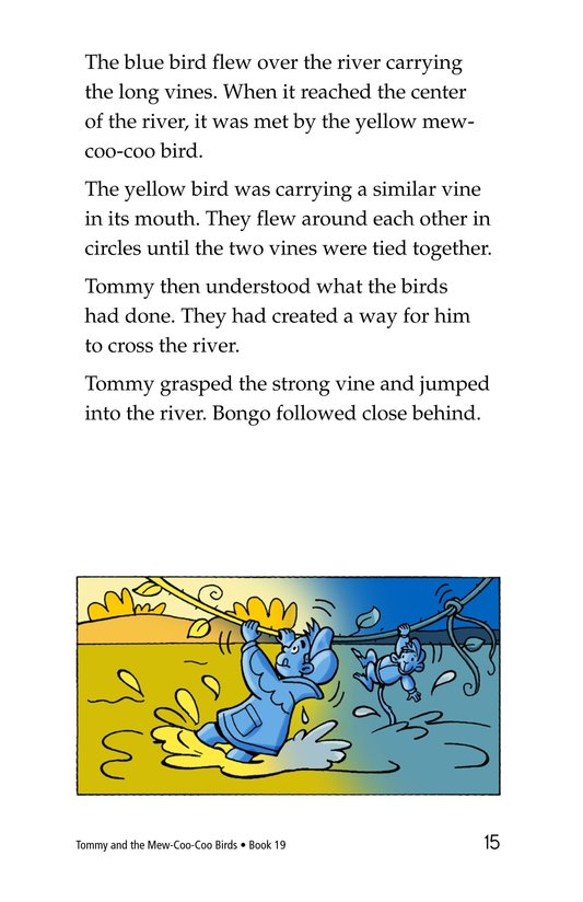 Book Preview For Tommy and the Mew-Coo-Coo Birds Page 15