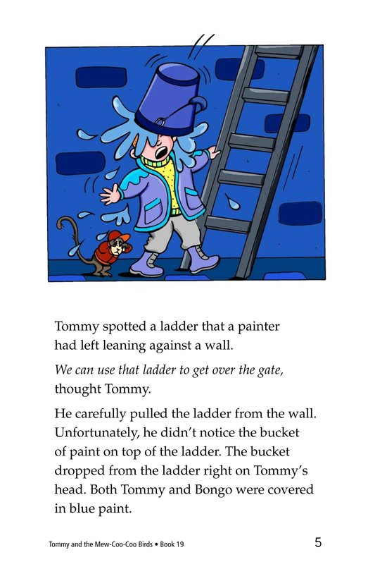 Book Preview For Tommy and the Mew-Coo-Coo Birds Page 5