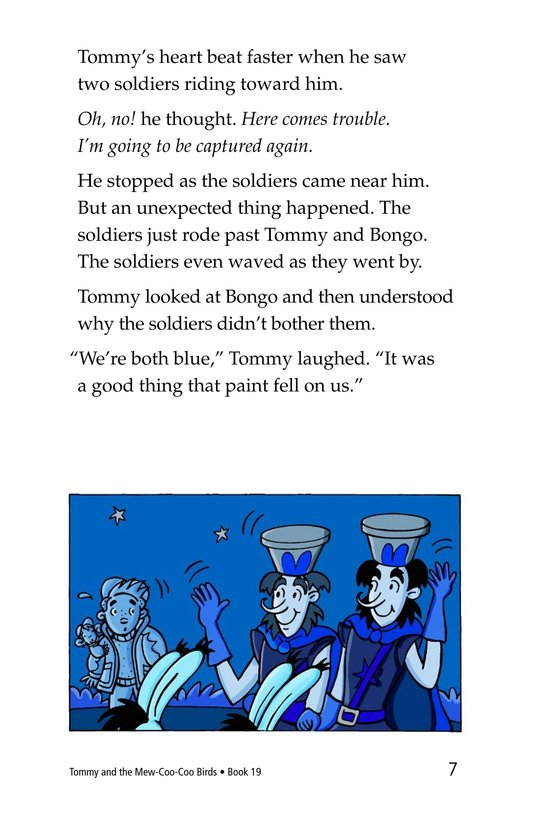 Book Preview For Tommy and the Mew-Coo-Coo Birds Page 7