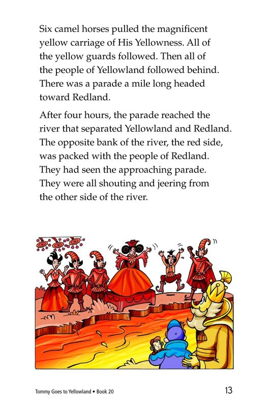 Book Preview For Tommy Goes to Yellowland Page 13