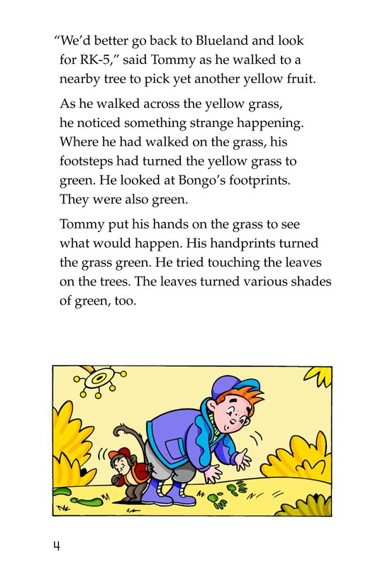Book Preview For Tommy Goes to Yellowland Page 4