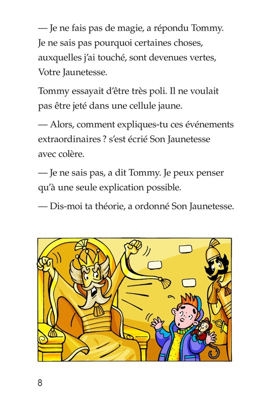 Book Preview For Tommy Goes to Yellowland Page 8