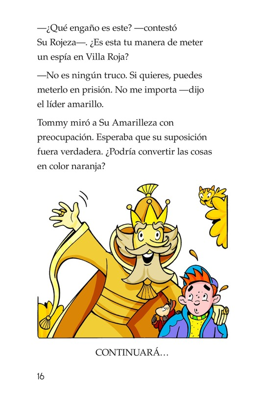 Book Preview For Tommy Goes to Yellowland Page 16