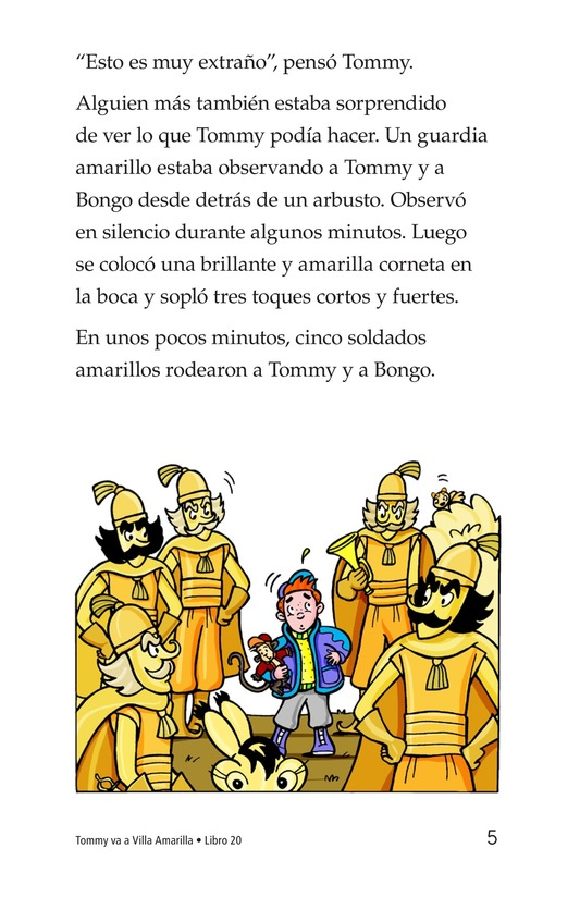 Book Preview For Tommy Goes to Yellowland Page 5