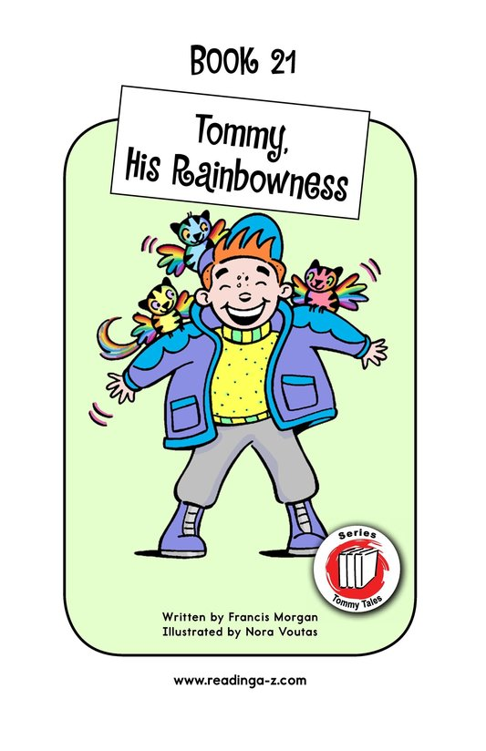 Book Preview For Tommy, His Rainbowness Page 1