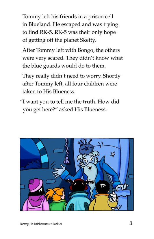 Book Preview For Tommy, His Rainbowness Page 3