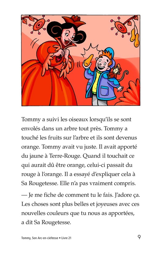 Book Preview For Tommy, His Rainbowness Page 9