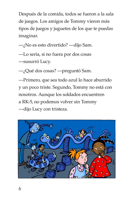 Book Preview For Tommy, His Rainbowness Page 6