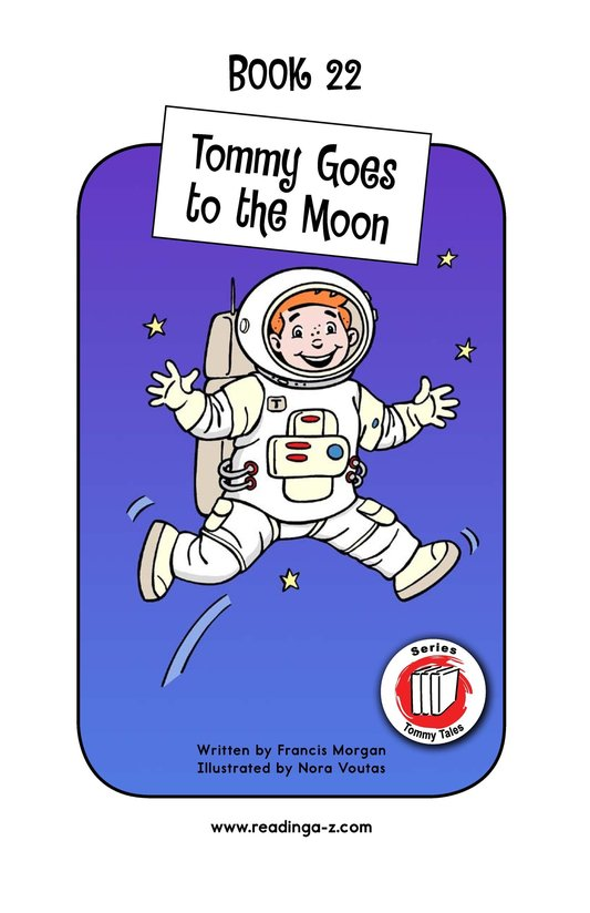 Book Preview For Tommy Goes to the Moon Page 1