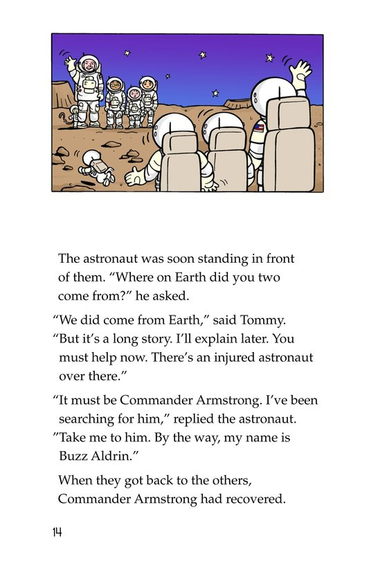 Book Preview For Tommy Goes to the Moon Page 14