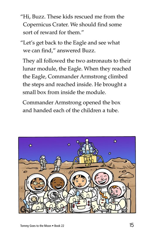 Book Preview For Tommy Goes to the Moon Page 15