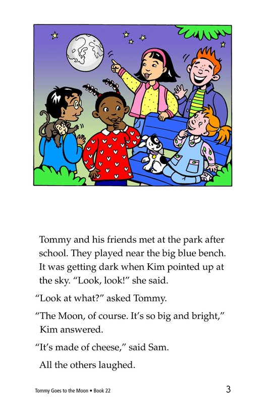 Book Preview For Tommy Goes to the Moon Page 3