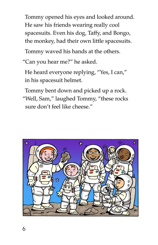 Book Preview For Tommy Goes to the Moon Page 6
