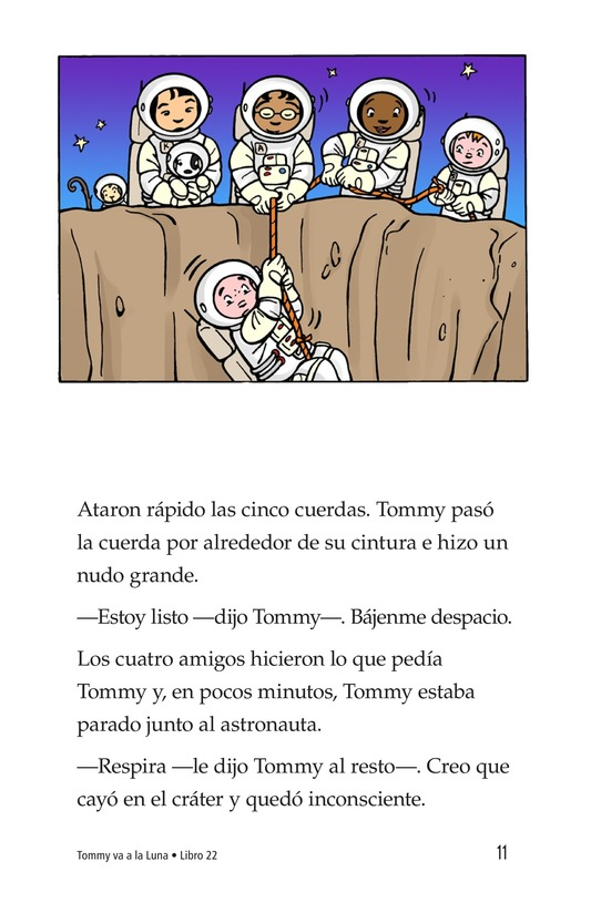 Book Preview For Tommy Goes to the Moon Page 11
