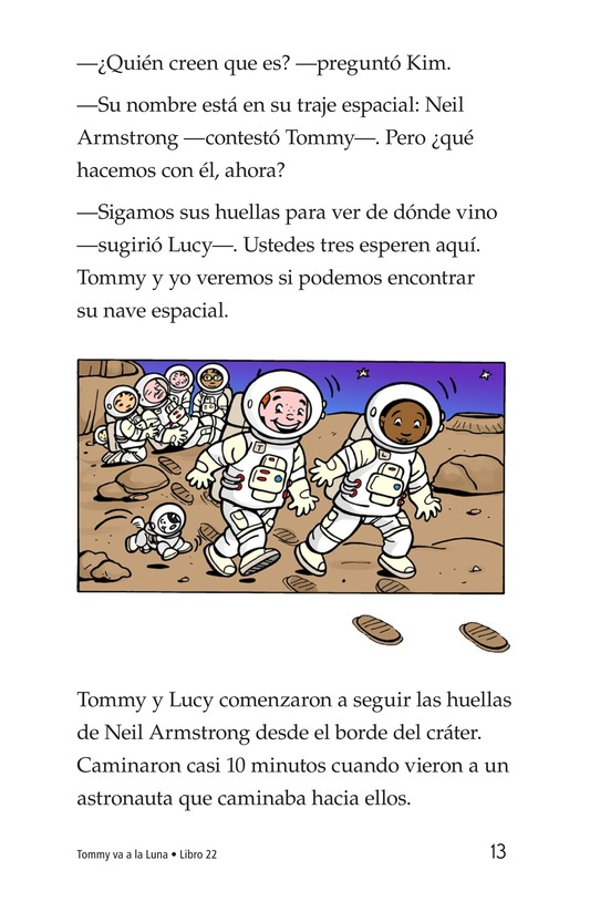 Book Preview For Tommy Goes to the Moon Page 13