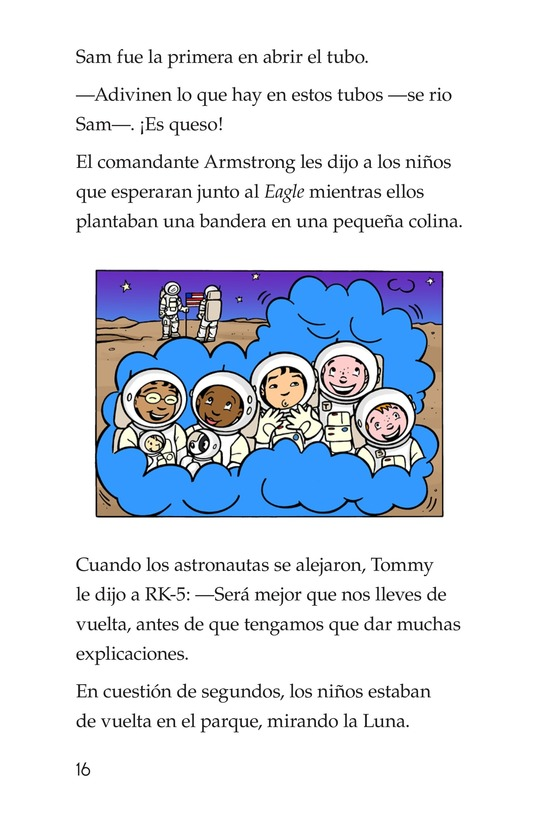 Book Preview For Tommy Goes to the Moon Page 16