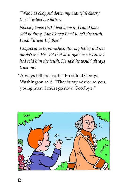 Book Preview For Tommy For President Page 12