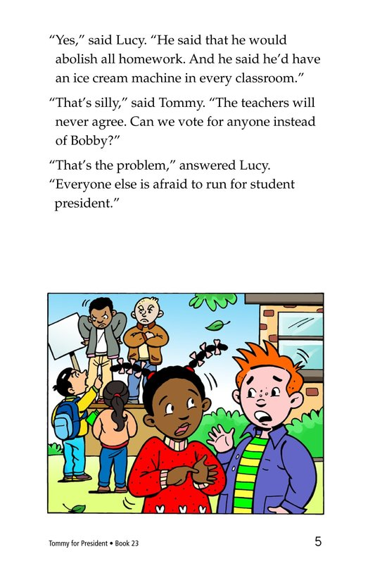 Book Preview For Tommy For President Page 5
