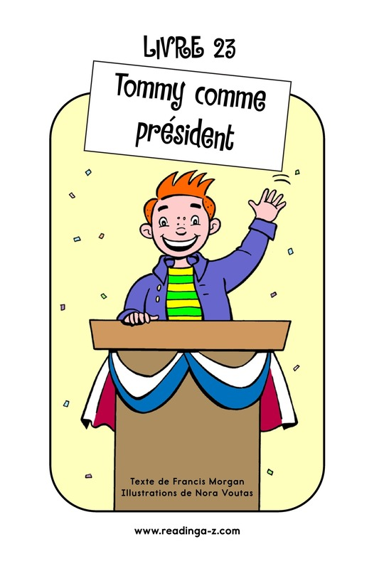 Book Preview For Tommy For President Page 1
