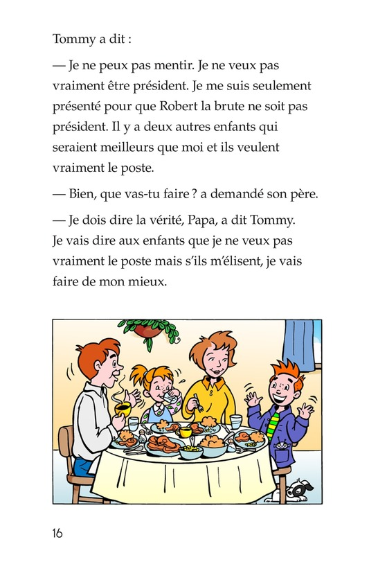 Book Preview For Tommy For President Page 16