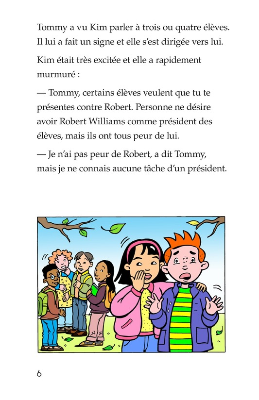 Book Preview For Tommy For President Page 6
